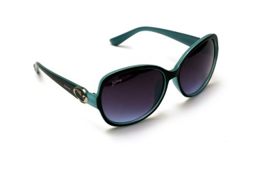 Lobay lby-26 Over-sized Sunglasses(Violet)