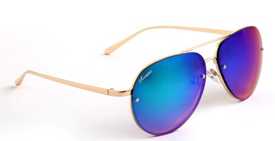 Amaze AM1043 Aviator Sunglasses(Green)