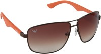 NOD NOD062K15IN0737 Rectangular Sunglasses(Brown)