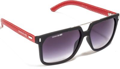 Danny Daze D-428-C2 Wayfarer Sunglasses(Black)