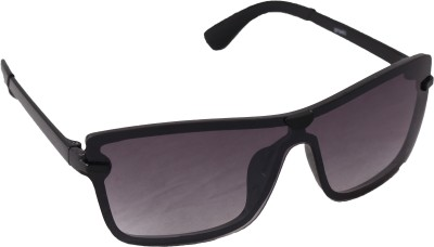 QWERTY Black Stylish Wayfarer Sunglasses