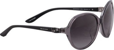 Celine Dion CD5137S C2 Oval Sunglasses(Grey) at flipkart