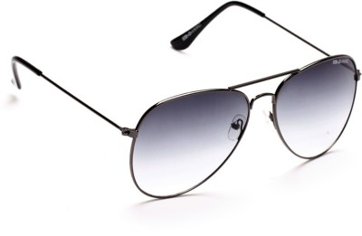 Danny Daze D-1702-C5 Aviator Sunglasses(Grey)