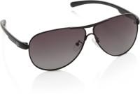 Gio Collection MR12 Black P12257 Aviator Sunglasses(Grey)
