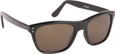 Cristiano Ronnie Full Black Wayfarer Sunglasses