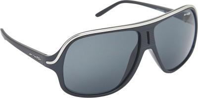 Arnette AN_4129_BLKSIL Over-sized Sunglasses(Black)