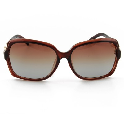 Brooch Over-sized Sunglasses