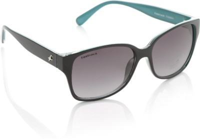 Fastrack P289BK1F Rectangular Sunglasses(Violet)