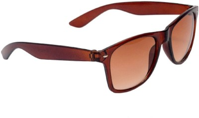 Allen Cate Brown Dual Shade Wayfarer Sunglasses