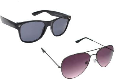 Sellebrity Elegant Combo Classic PurpleWith Wayfare Black Aviator Sunglasses Aviator Sunglasses