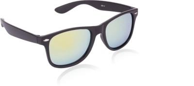 Opticalplaza Mirrored Wayfarer Sunglasses