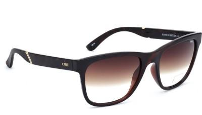 IDEE IDEE S2034 C2 55 Wayfarer Sunglasses(Brown)