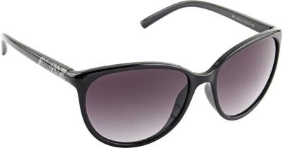 Farenheit 1285 Oval Sunglasses(Grey)