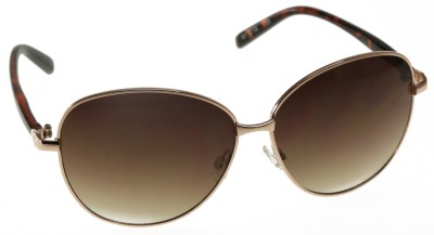 Mango Pickles Chic Edge Over-sized Sunglasses