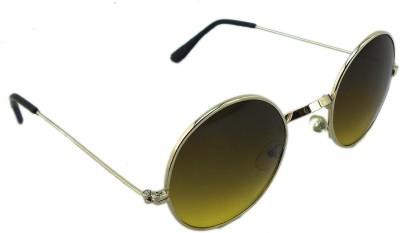 Redeemer Wave Round Sunglasses(Brown)