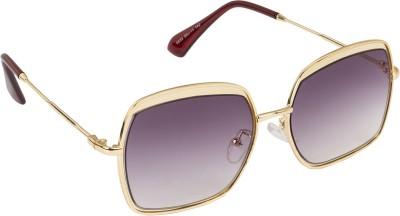 Danny Daze D-2821-C8 Rectangular Sunglasses(Violet)