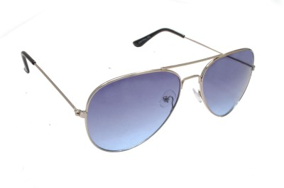 Sellebrity Elegant Classic Blue Aviator Sunglasses Aviator Sunglasses