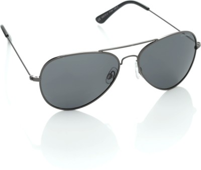 Polaroid 04213C Aviator Sunglasses(Grey)