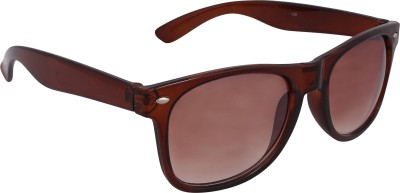 Qwerty Brown Wayfarer Sunglasses