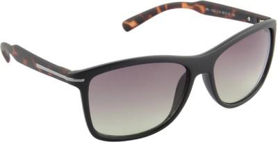 Farenheit 1293-C6 Wayfarer Sunglasses(Green)