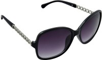 Joe Black C1 Over-sized Sunglasses(Violet)