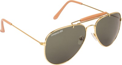 Danny Daze D-1713-C6 Aviator Sunglasses(Violet)