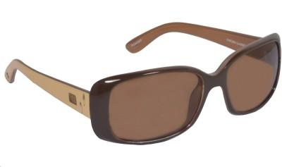 Blue Point Rectangular Sunglasses