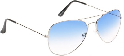 Allen Cate Dual Shade Blue Aviator Sunglasses