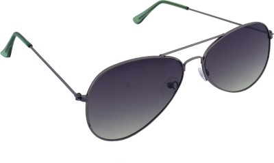 Ewan Flat Glass Aviator Aviator Sunglasses