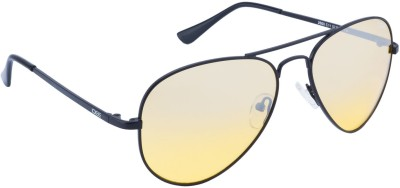IDEE 2000-C11 Aviator Sunglasses(Yellow)