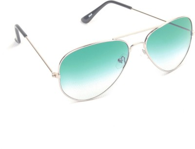 6by6 SG449 Aviator Sunglasses(Green)