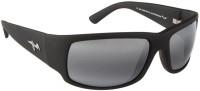 Maui Jim WORLDCUP_MJ266_02MR Rectangular Sunglasses(Grey)