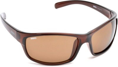 MTV Roadies RD-124-C5 Sports Sunglasses(Brown)