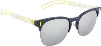 Farenheit FA-7002-C3 Wayfarer Sunglasses(Silver)