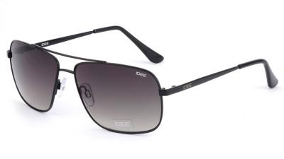 IDEE 2049 Rectangular Sunglasses(Green)