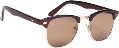 Gold Berg Wayfarer Sunglasses