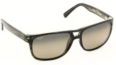 Maui Jim Waterways Rectangular Sunglasses