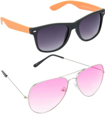 Red Leaf RCMB491_1 Wayfarer, Aviator Sunglasses(For Boys)