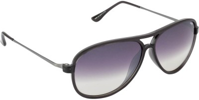 IMAGE S426-C4 Aviator Sunglasses(Grey, Clear)