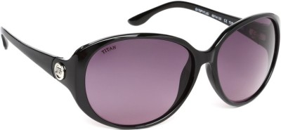 Glares by Titan G170PYFL9D Round Sunglasses