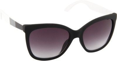 Farenheit 1519-C5 Cat-eye Sunglasses(Grey)