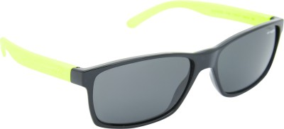 Arnette AN_4185_SSBLKBLK3N Rectangular Sunglasses(Black)