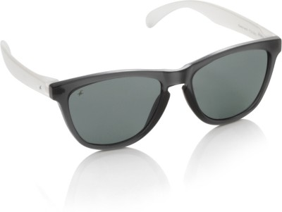 Fastrack PC003BK3 Wayfarer Sunglasses(Grey)
