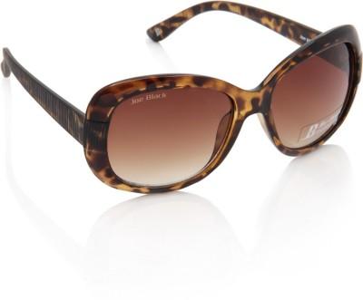 Joe Black JB-717-C2 Over-sized Sunglasses(Brown)