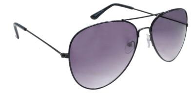 Sellebrity Elegant Classic Black Aviator Sunglasses Aviator Sunglasses