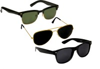 Verre clubcom Wayfarer, Aviator, Wayfarer Sunglasses(For Boys)