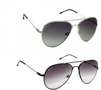 Chevera CHCOMBO-09N10N Aviator Sunglasses(Multicolor)