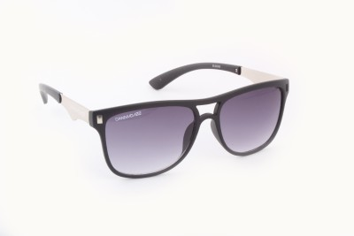 Danny Daze D-1104-C1 Wayfarer Sunglasses(Grey)