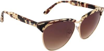 Voyage 2036MG1954 Cat-eye Sunglasses(Brown)