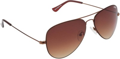 IMAGE S445-C5 Aviator Sunglasses(Brown)